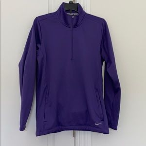 Nike Golf Performance 1/4 Zip Long Sleeve Shirt